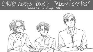 attack on titan talent contest comic dub