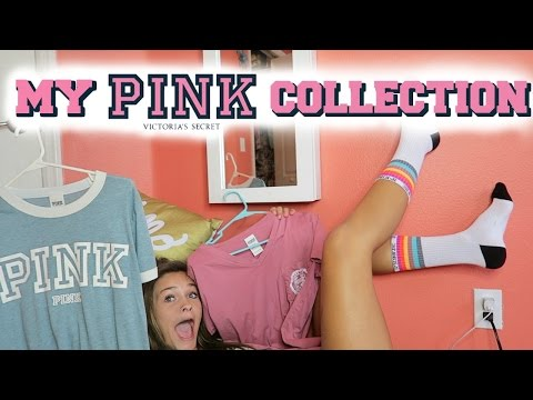 MY AWESOME VICTORIA SECRET PINK HAUL/COLLECTION!