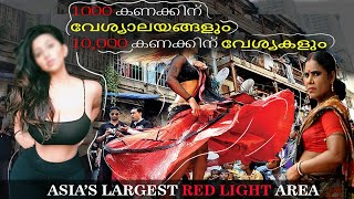 sonagachi  Asia's largest red-light district., red street (1000 of brothels and 11,000 sex workers )