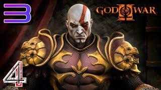 God of War 2 RPCS3 прохождение на геймпаде часть 4 Ледяной титан и прощай Прометей
