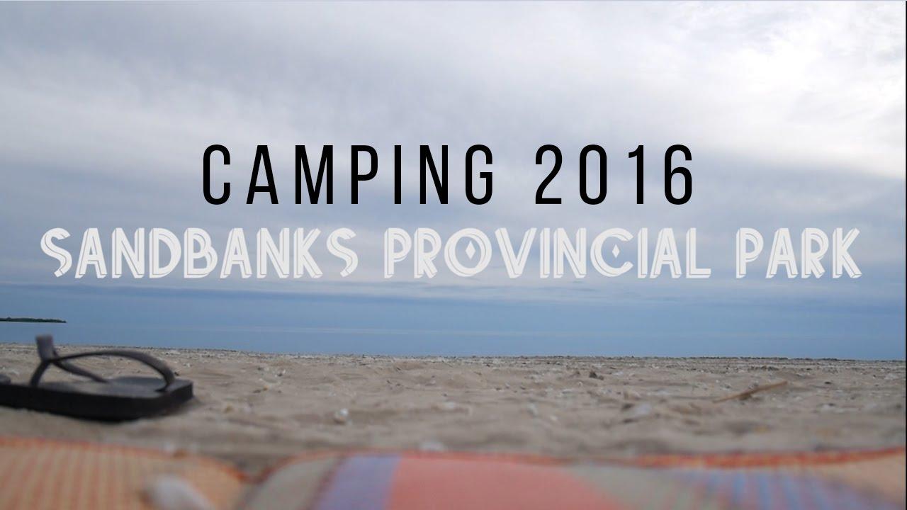 camping a sandbanks