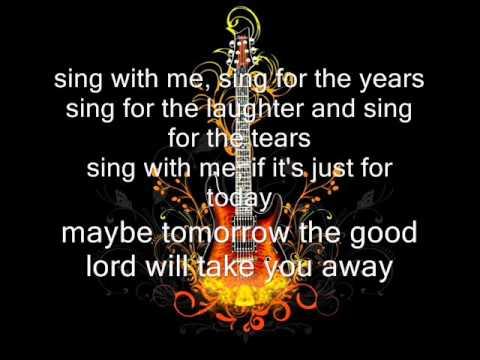 Dream On Lyrics. Aerosmith