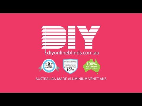DIY Online Blinds -  Aluminium Venetians