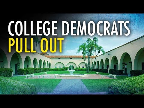 College Democrats Pull Out Of Debate | Campus Unmasked