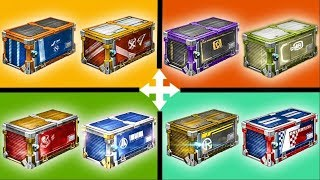 OPENING EVERY ROCKET LEAGUE CRATE