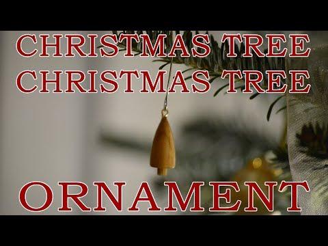 Mini Christmas tree Christmas Tree Ornament - making ornaments