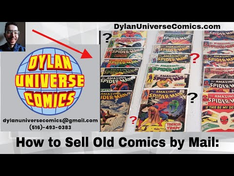 Comic Books: The Best Way to Sell Them
