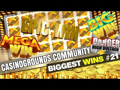 CasinoGrounds Community Biggest Wins #21 / 2017 - 동영상