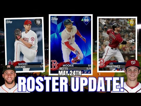 So Many DIAMOND Upgrades! May 24th Roster Update Predictions! MLB The Show 18 Diamond Dynasty