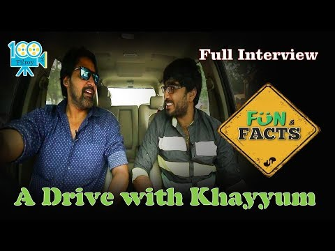 A Drive with Actor Khayyum Ali || Full Interview || Fun & Facts || 100%Filmy
