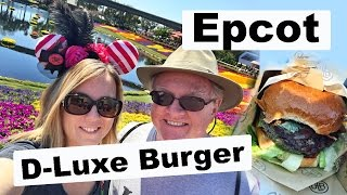 March 2017 Disney World Day 2 part 2!! D-Luxe Burger and Epcot!