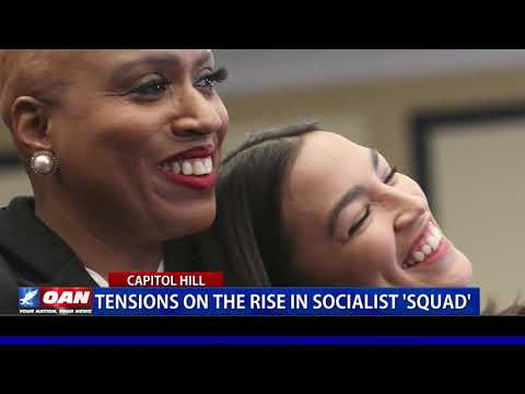 Tensions on the rise in socialist 'Squad'