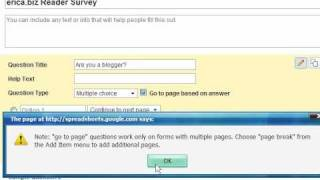 Create a Free Online Survey Using Google Docs (Free Online Survey Tool)