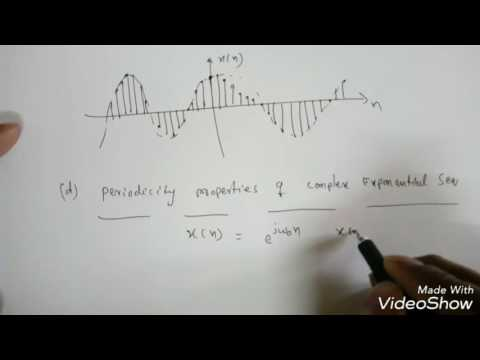 Signals and Systems Lec-9: Discrete Time Signals