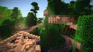 тест новой графики в Minecraft.