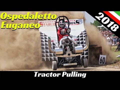 Tractor Pulling Ospedaletto Euganeo 2018 - ITPO - Explosions, Flames & Pure Sound!