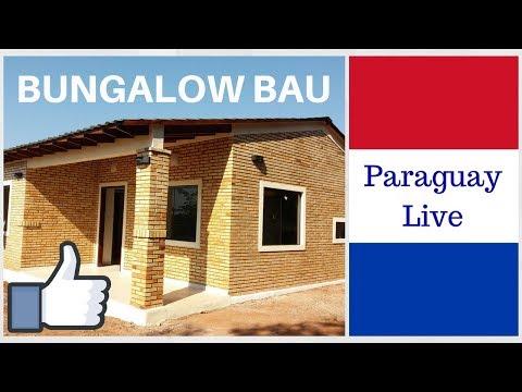 Hausbau Bungalow schlüsselfertig - Einfamilienhaus kaufen in Paraguay