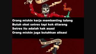Libertaria Orang Miskin Dilarang Mabuk feat Farid FSTVLST with Lirik