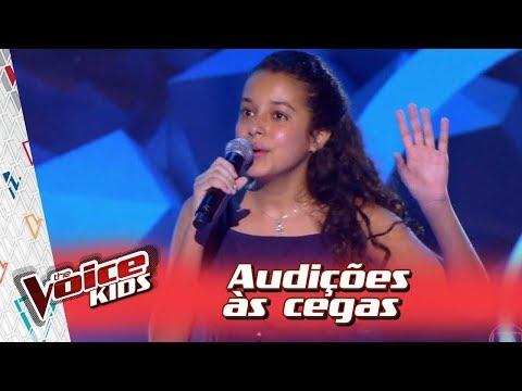 Isadora Gomes canta 'Espelhos D'Água' na Audição – 'The Voice Kids Brasil' | 3ª Temporada