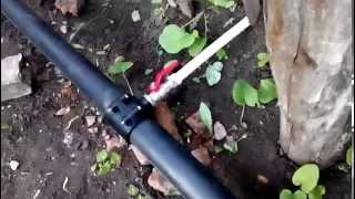 Замена водопровода на даче(Компания