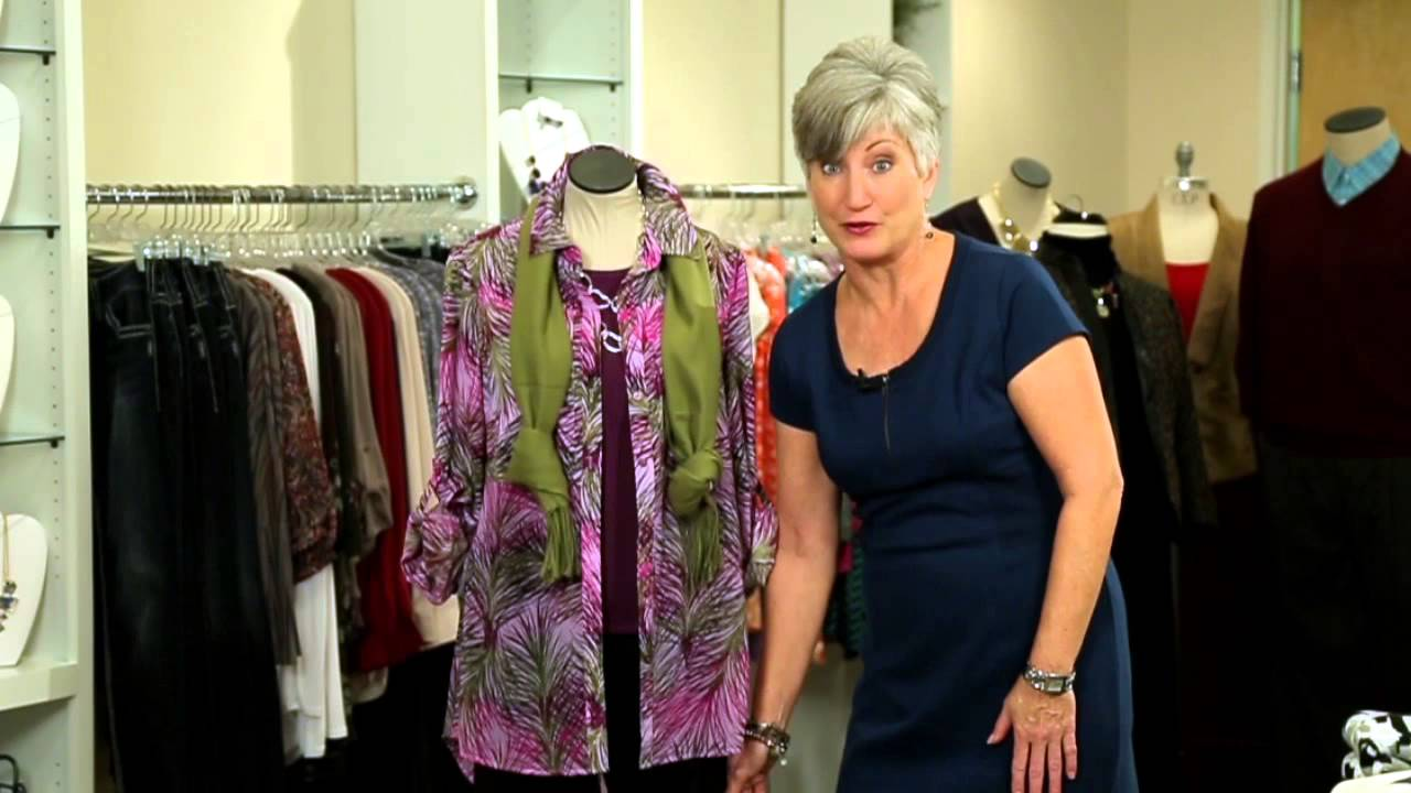 How to dress women over 50