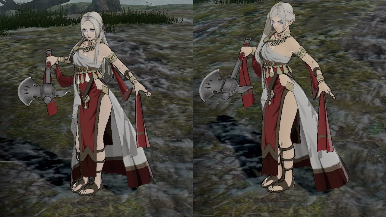 Fire Emblem Three Houses All Female Dancer Class Outfits Before And After Timeskip