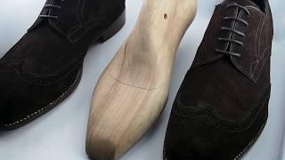 My first fully Bespoke shoe ( Shoe Last Making)