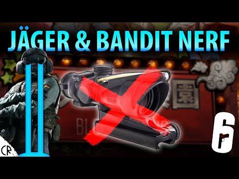 Jäger & Bandit ACOG Removal Leak - Blood Orchid - Hong Kong - Rainbow Six Siege - R6