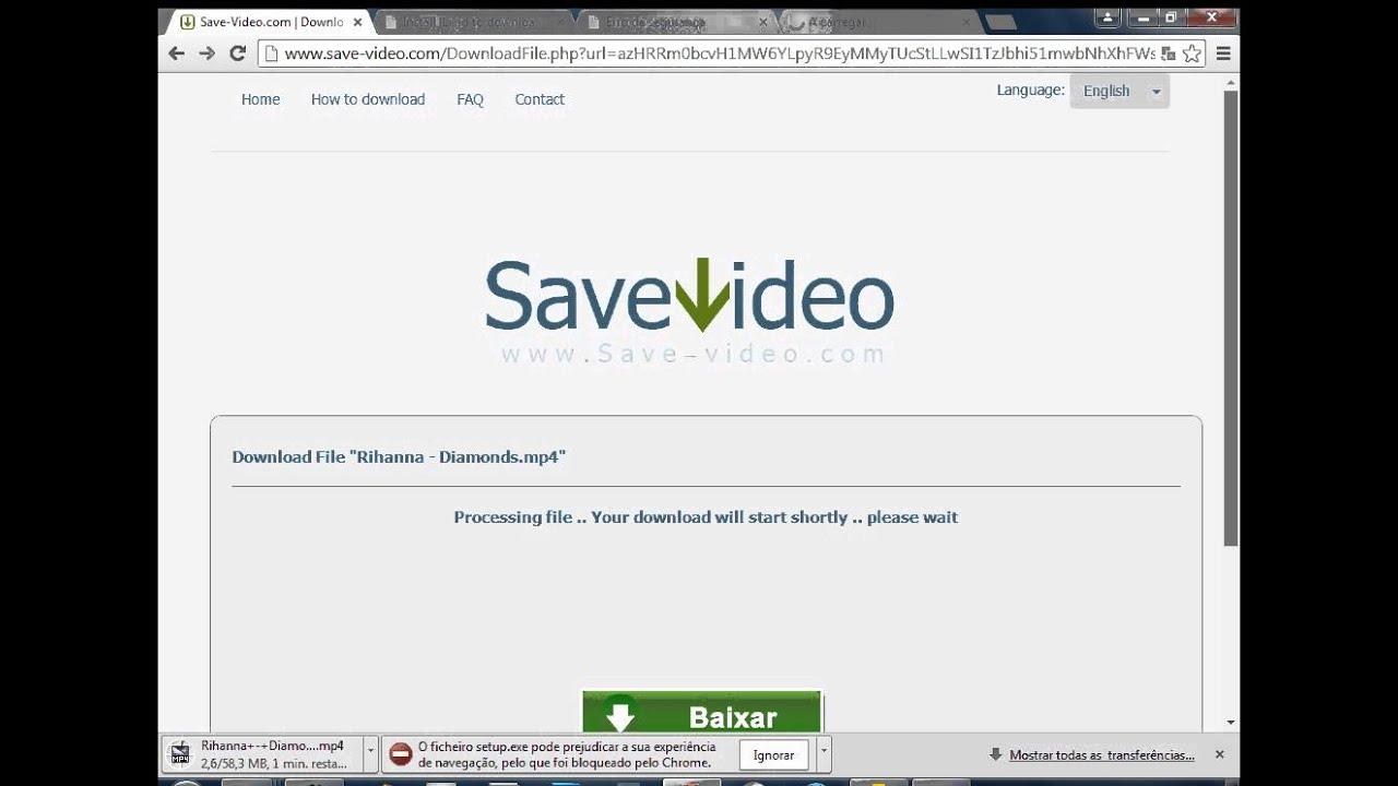 Baixar video do youtube pelo link