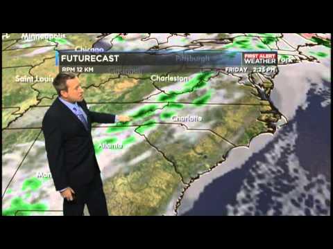WBTV Weather Forecast 04.09.15