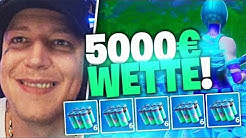 Splash Challenge in Fortnite | 5000€ Wette | SpontanaBlack