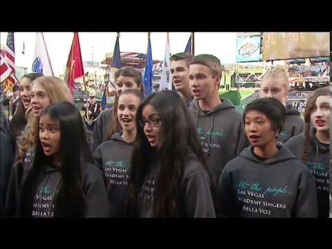 Las Vegas Academy Choir National Anthem