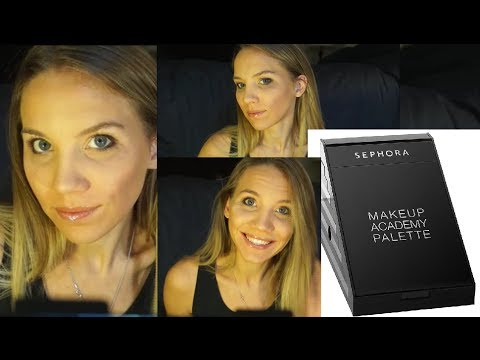 Sephora Street Style Tutorial - Make-up Academy Palette ...