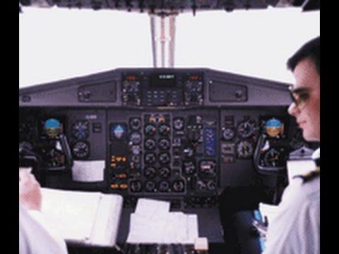 RYANAIR ATR 42 Cockpit Video