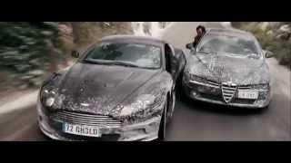 Aston Martin DBS V12 - Сцена погони из Джеймс Бонда