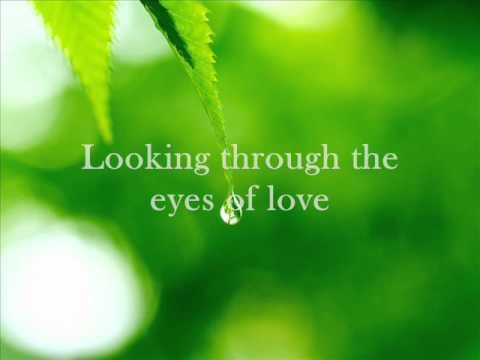 THROUGH THE EYES OF LOVE by britt nicole
