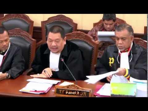 MK Gelar Sidang Sengketa Pilkada Pamekasan Madura  Tahap Kedua. Tahun 2018