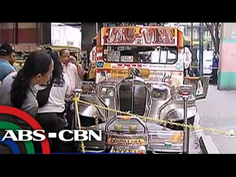 Man shoots jeepney driver in the head