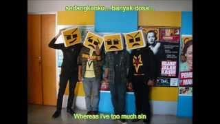 Repoeblic Patah Hati   Dosa [Rap Version] lyrics + English Subtitle [Free download ASS file]
