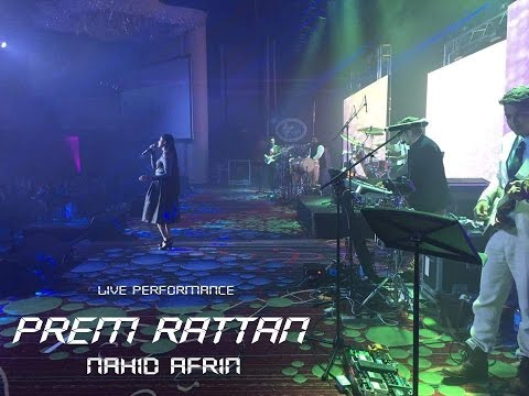 Nahid Afrin Prem Rattan Dhan Payo | Live Performance Hd Video