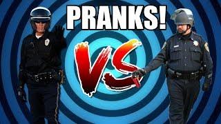 COP VERSUS COP! (prank stories)