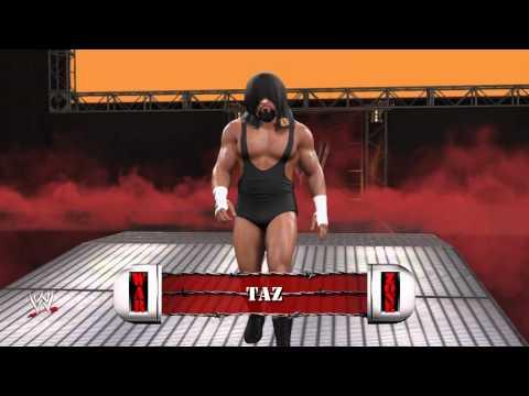 WWE 2K16 Mods - Tazz (WWE Theme and TItantron)