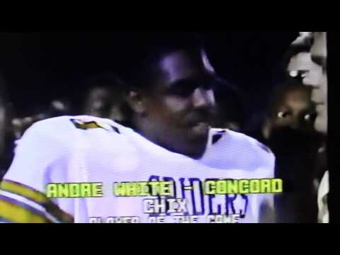 Battle for the Bell 1986 (Post Game Interview with Concord Coach E.Z. Smith III)