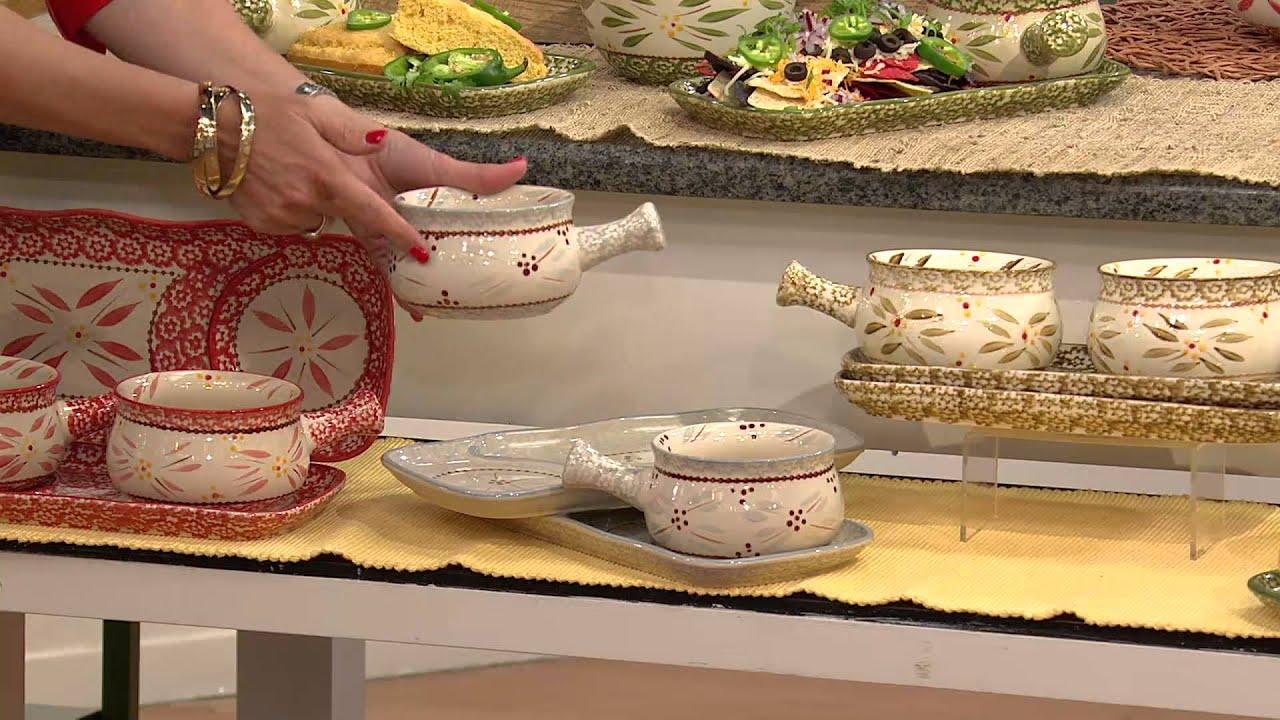 ... Old World 4-pc. Soup & Sandwich Set with Alberti Popaj - YouTube