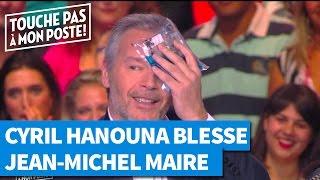 Cyril Hanouna blesse Jean-Michel Maire pendant la pub