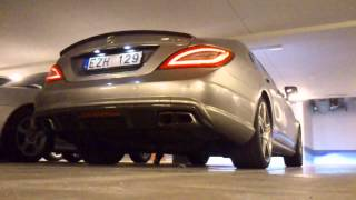 CLS63 AMG 819hp/1315nm Cold Start w/ Catless Downpipes