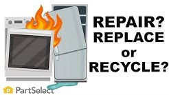 Home Appliance Guide: What's Right For You? REPAIR, REPLACE, OR RECYCLE? | PartSelect.com