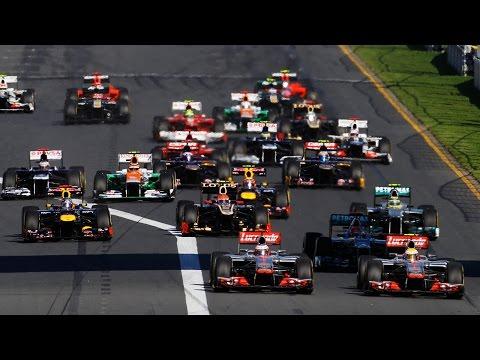 F1 2011-2014 Fernando Alonso Onboard Start Compilation [1080p] - Cruzadelol