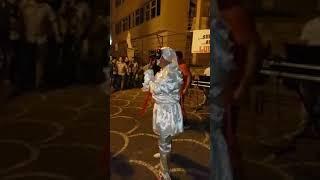 Pietrastornina festa comunale con Carmine ponte trasformista e pulcinella napoletano