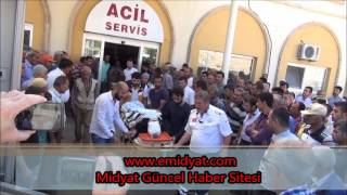 Midyat'ta katliam gibi kaza: 5 ölü 13 yaralı